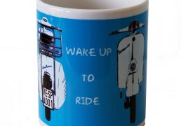 Wake up to ride Vespa