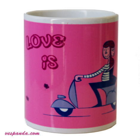 tazza Love is... Vespa