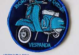 toppa Vespa born to ride